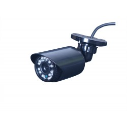 Camera de surveillance WA-150PAL CCTV noire IR 36 LED IR CUT - Couleur 800TVL métal - Waterproof