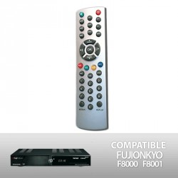 Télécommande de remplacement pour décodeur FUJI ONKYO F8000 F8001 (FRANSAT) / CYBEST