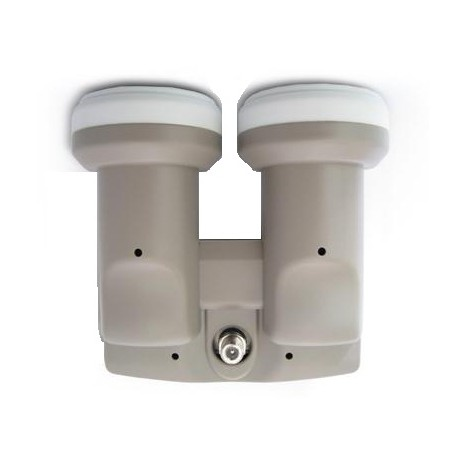 Megasat Diavolo Monoblock Single + connecteur LNB 0.1dB HD Ready 6° astra19.2°  hotbird 13°