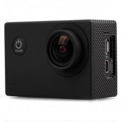 """Mini caméra sport NOIR WIFI HD 1080p LCD 1,5"""" TFT 170 degrés Waterproof + accessoires"""