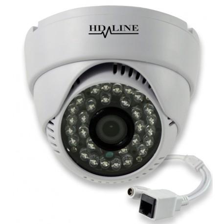 Caméra IP Dôme IP-1150DC Vidéosurveillance 720P 24 LED IR CUT plastique
