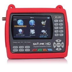 """Satlink WS-6951 Pointeur Satellite DVB-S2 MPEG-2 / H.264 Ecran 4.3"""" Couleur LCD TFT"""