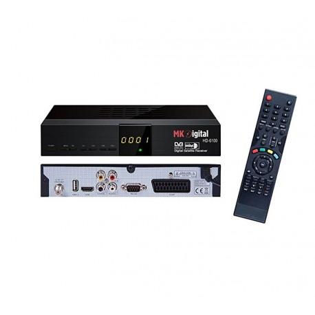 MK HD-6100 receiver HD