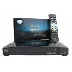 Skybox V8 Démodulateur satellite FTA HD PVR Lecteur de carte CA