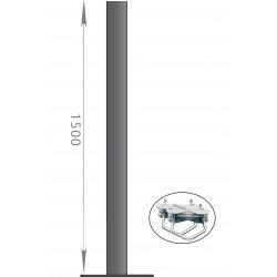 FIXATION BALCON SOL PLAFOND - ANTENNE ET PARABOLE 150cm