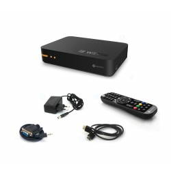 WETEK OpenElec Mini IPTV Box + Satellite DVB-S2 WIFI Dual-Core Mediacentre IPTV Video Music KODI ex Xbmc ...