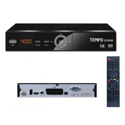 TEMPO 22700 HD Démodulateur satellite FTA HD