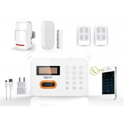 HD-LINE AL-10 Wireless Alarm System + PIR / Door sensor with remote control