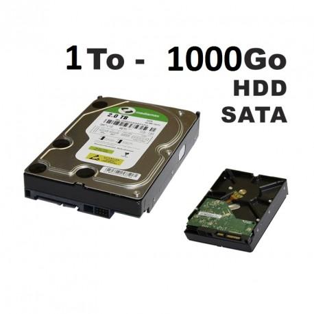 Disque dur SATA 1000 Go 32 Mo Cache - Enregistrement  Videosurveillance