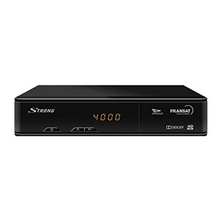STRONG SRT 7405 HD Récepteur satellite HD + Carte FRANSAT (satellite EUTELSAT 5W)