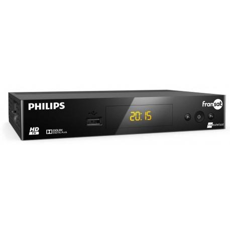 Philips DSR3031F Démodulateur satellite HD Fransat