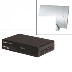 demodulateur TNT + antenne  interieur terrestre
