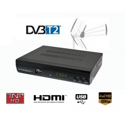 STROM 504 TNT DVB-T2  Full HD 1080P Receiver TV HDTV Box Terrestrial