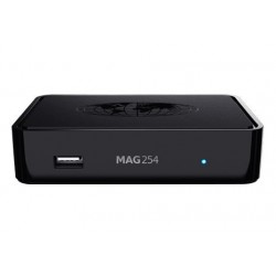 MAG 254w2 mit WLAN (WiFi) integriert 600Mbps - IPTV Multimedia Set Top Box
