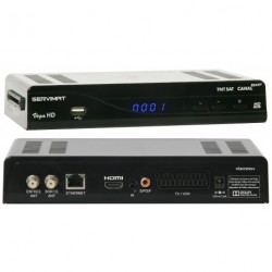 SERVIMAT VEGA HD TNTSAT Récepteur satellite HD  Astra 12 V/220 V