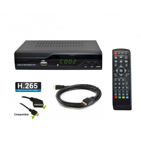 Strom-505 Décodeur terrestre TNT HD DVB-T2