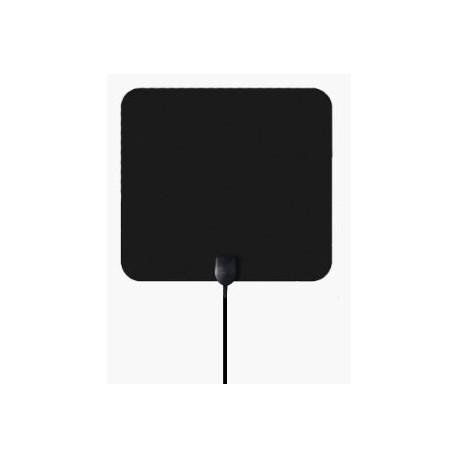 HD-960B Antenne TNT HD terrestre intérieure DVB-T2  Full HD HDTV - UHF / VHF / FM Ultra plat