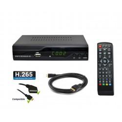 Tempo 4000 Décodeur TNT terrestre HD DVB-T2