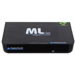 Media Link ml 7000 IPTV Décodeur Box Lecteur multimédia Internet TV IP Récepteur