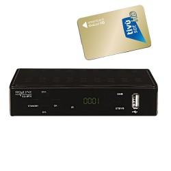 OTTBOX HD-LINE DVB-S et Iptv combiné avec accès Stalker