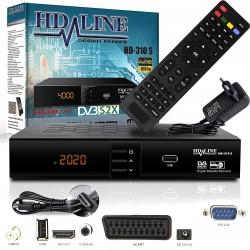 HD-LINE  HD-310  - receiver hd HD FTA