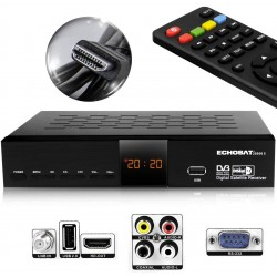 Echosat 20500 HD - Démodulateur satellite chaines HD FTA DVB-S2 HDMI USB PVR