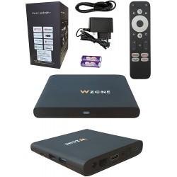 Leyf 4K TV BOX Android 10 11 12 13 Free Upgrade - ARM Cortex-A55 CPU / ARM Mali-G31 GPU / 2 GB Ram / 8 GB Memory /WİFİ(