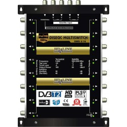 HD-LINE PRO MULTISWITCH 5/16 - 1SAT - 1TER / 16DEMOS