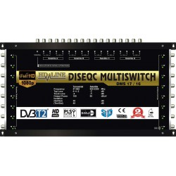 HD-LINE PRO MULTISWITCH 17/16 - 4SAT - 1TER / 16DEMOS