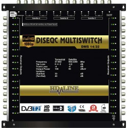 HD-LINE PRO MULTISWITCH 14/32 - 3SAT - 1TER (+ 1SAT 1 POLARITE) / 32DEMOS