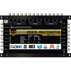 HD-LINE PRO MULTISWITCH 14/16 - 3SAT - 1TER (+ 1SAT 1 POLARITE) / 16DEMOS