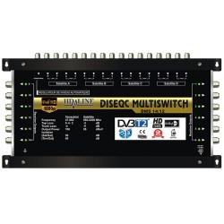 HD-LINE PRO MULTISWITCH 17/12 - 4SAT - 1TER / 12DEMOS