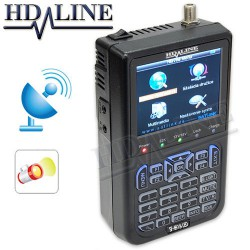 HD-LINE SF-6918 avec LED - Satfinder pointeur satellite