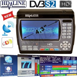 HD-LINE HD-900 ORIGINAL POINTEUR SATELLITE HD appareil de mesure parabole HD