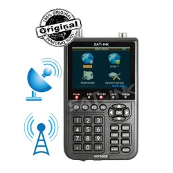 SATLINK ws 6909 DVB-S & DVB-T FINDER- POINTEUR SATELLITE ET TERRESTRE COMBO