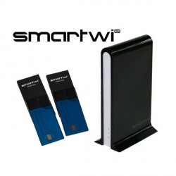 SmartWi - Cardsplitter Partageur de carte d'abonnement + 2 cartes pretes à copier