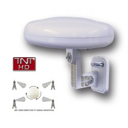 HD-LINE HD-920T - Antenne omnidirectionnelle TNT HD - Réception a 360 degrés