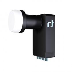 Inverto Black Ultra Quad LNB Tete universelle Noir