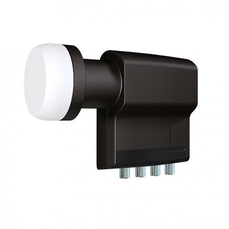 Inverto Black Premium Quad LNB Tete universelle Noir