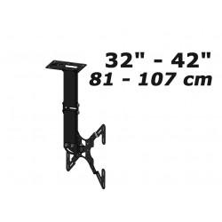 """Support TV 32"""" / 42"""" GK-540 Fixation plafond pour ecran plat"""
