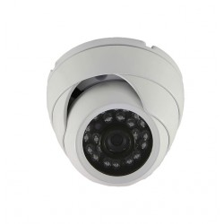 Camera de surveillance MD-200W Dome CCTV gris IR 24 LED - Couleur 420TVL