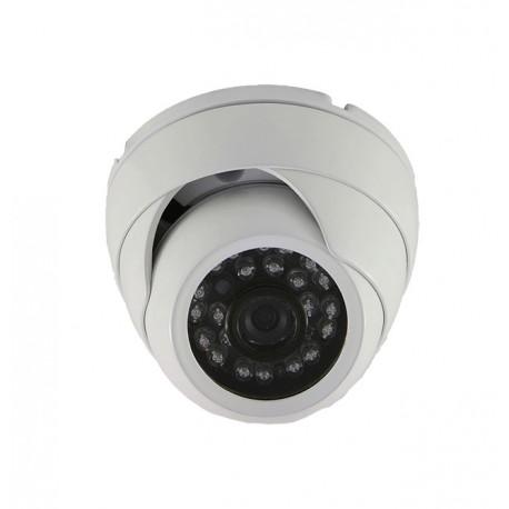 Camera de surveillance MD-200W Dome CCTV gris IR 24 LED - Couleur 420TVL métal