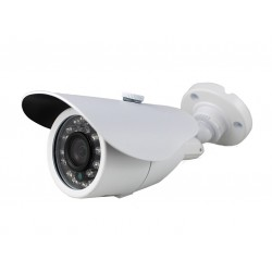 Camera de surveillance WP-500W CCTV blanche IR 24 LED IR CUT - Couleur 700TVL metal