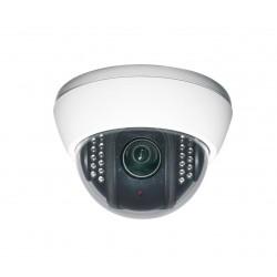 Camera de surveillance PL-150W Dome CCTV blanche IR 22 LED - Couleur IR CUT 720TVL plastique