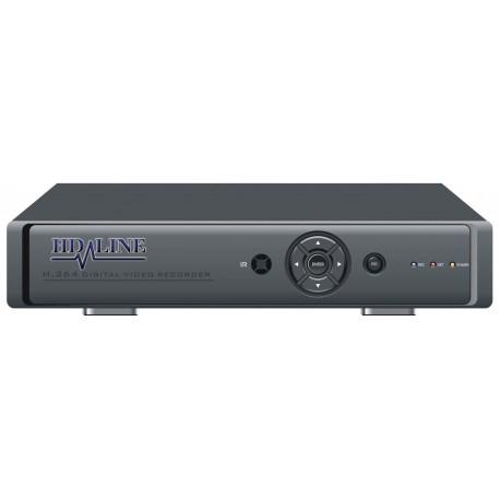 HD-DVR-4 Enregistreur numerique DVR 4 cameras - Systeme de videosurveillance CCTV H.264