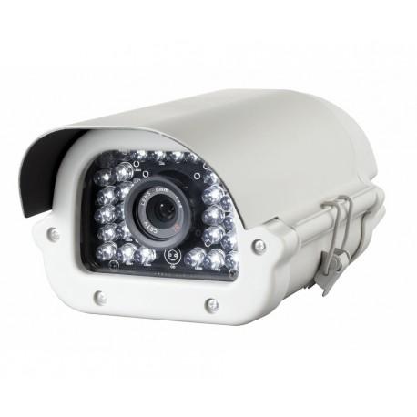 Camera de surveillance BX-1150W CCTV blanche IR 30 LED Vari Focus - Couleur 700TVL avec OSD - Métal - Compatible 960H
