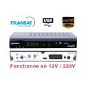 DIGIHOME DSF-300HD Terminal numerique FRANSAT TNT HD avec carte Fransat 12/220V + HDMI 1,5M