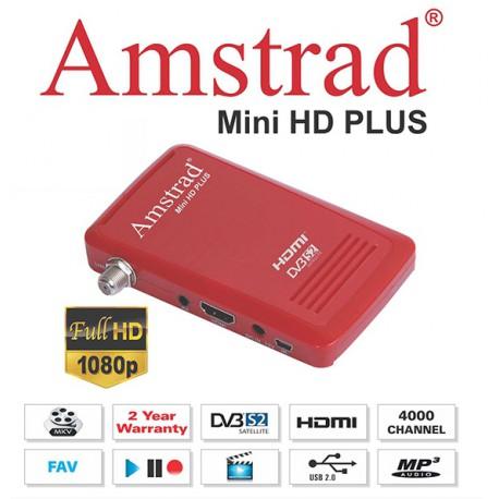 Amstrad Mini HD ROUGE! - Demodulateur FTA
