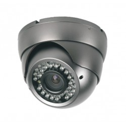 Camera de surveillance MD-450G Dome CCTV gris IR 36 LED Vari Focus - Couleur 650TVL métal
