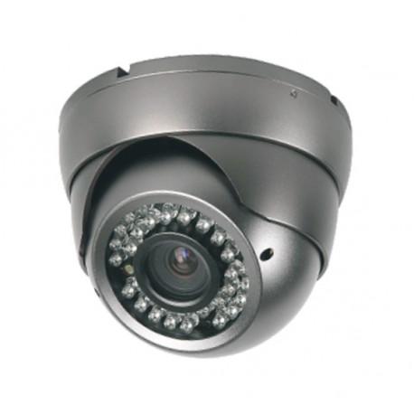 Camera de surveillance MD-450G Dome CCTV gris IR 36 LED Vari Focus - Couleur 650TVL métal